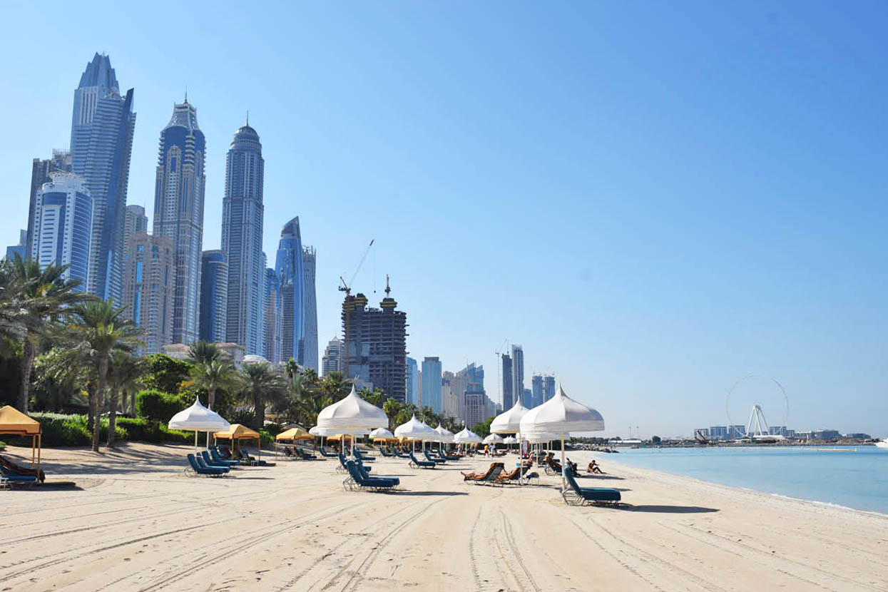 Praia em Dubai - One and Only Royal Mirage