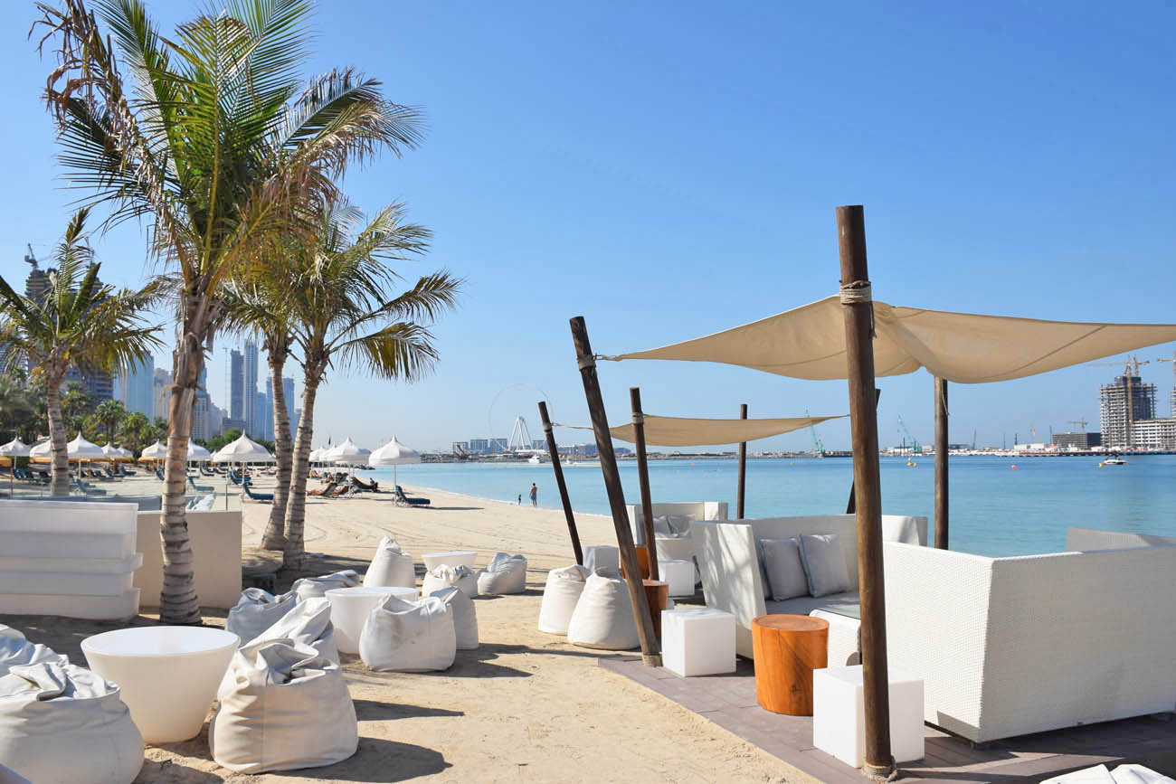 Praia em Dubai - One and Only Royal Mirage - The Jetty Lounge