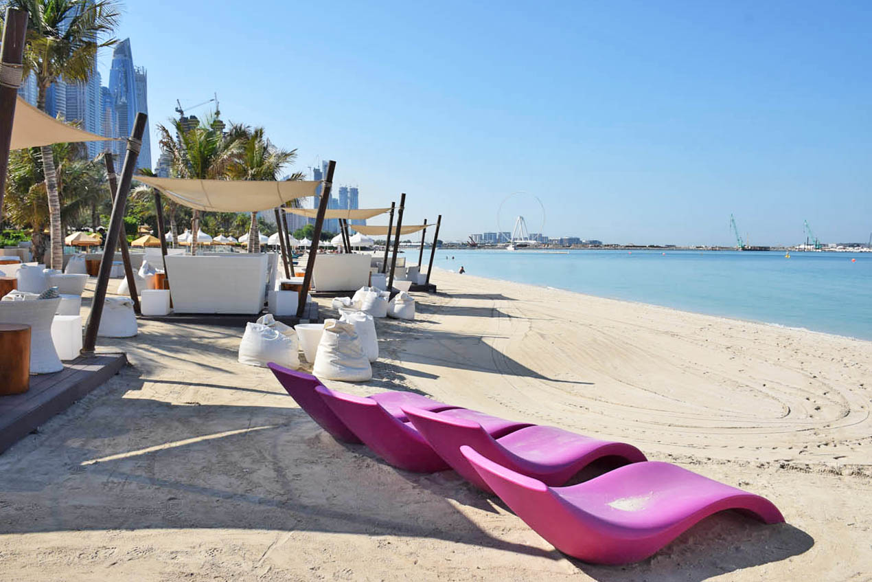 The Jetty Longe - One and Only Royal Mirage Dubai - beach bar