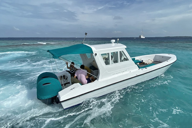 Soneva Fushi Maldives sandbank