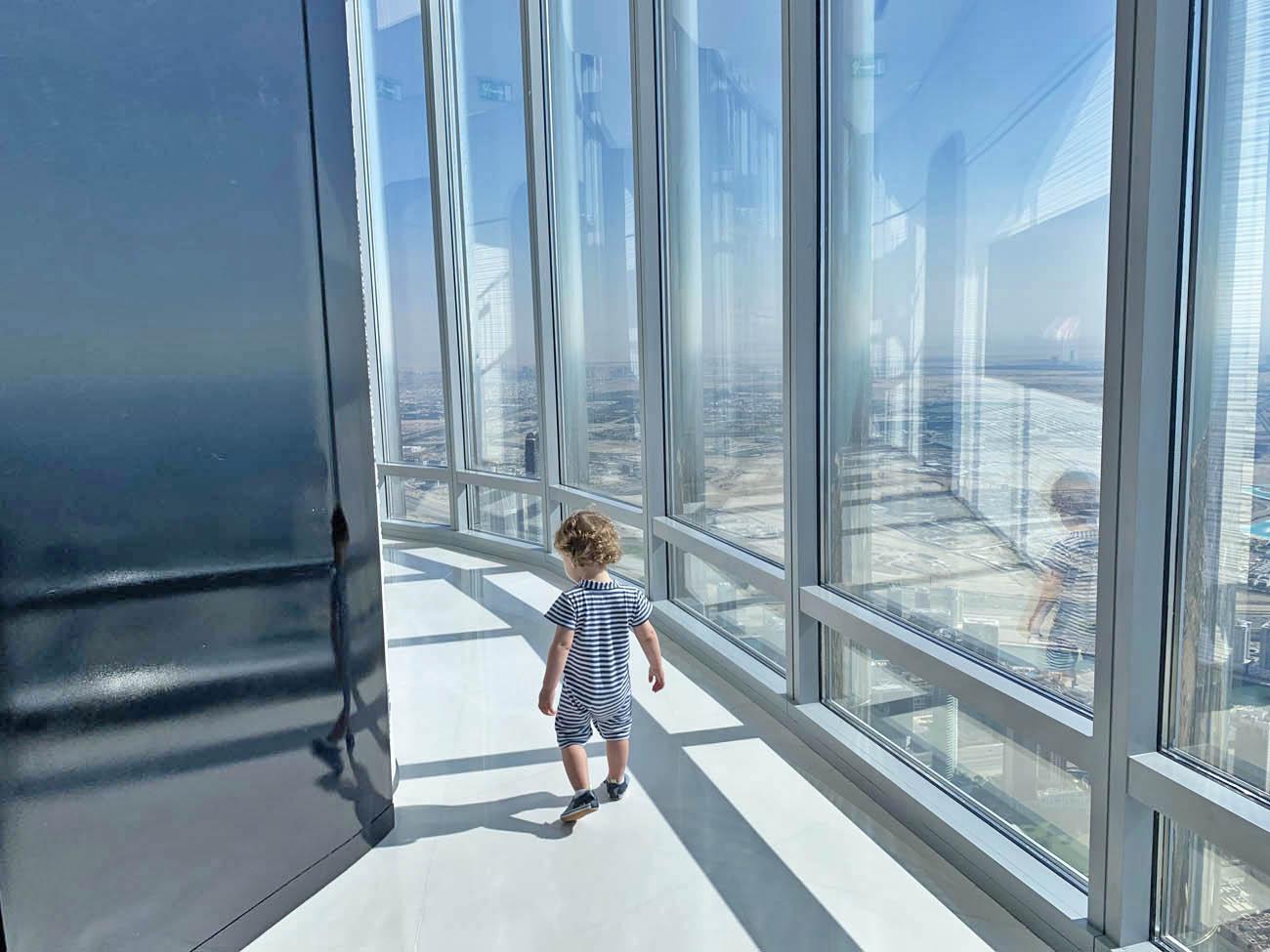 Burj Khalifa observatorio 148 andar