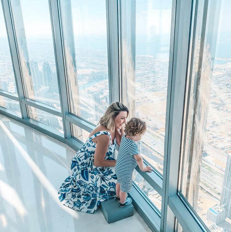 Burj Khalifa - ingresso vip observatorio 148 andar