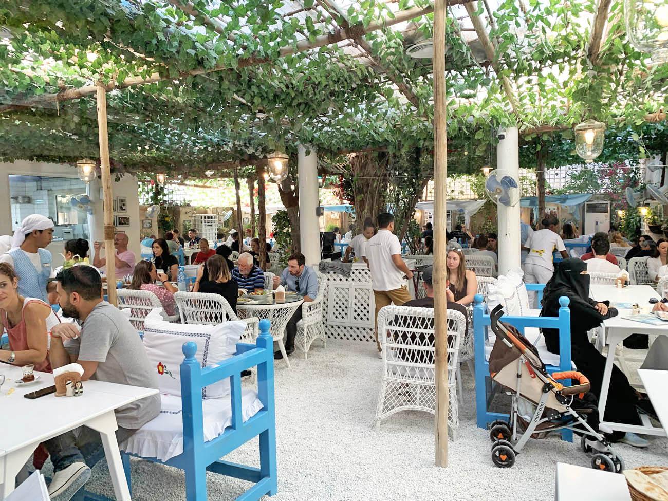 Arabian Tea House Dubai - restaurante Al Fahidi - distrito histórico Al Bastakiya
