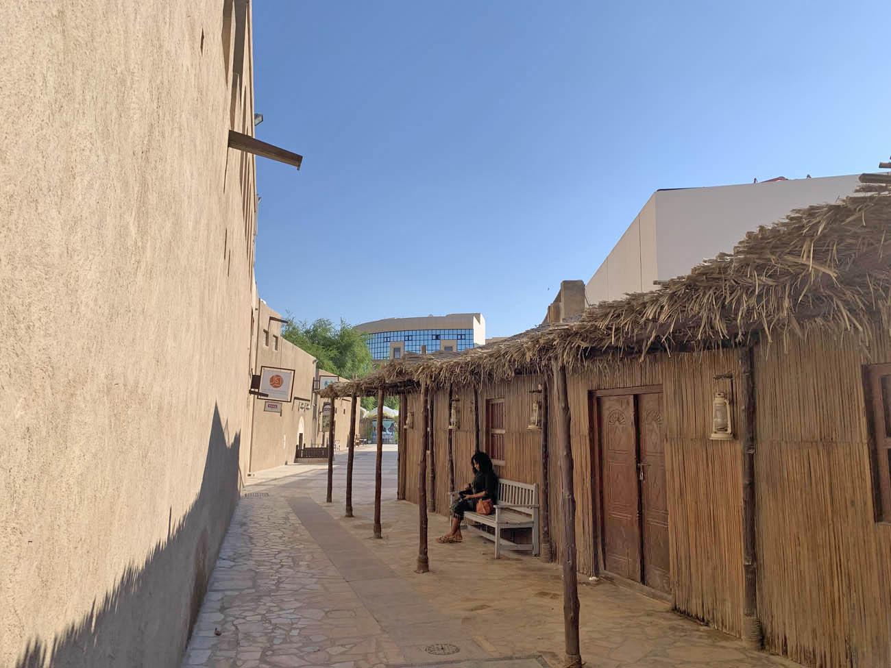 distrito histórico Al Bastakiya - Al Fahidi - Dubai