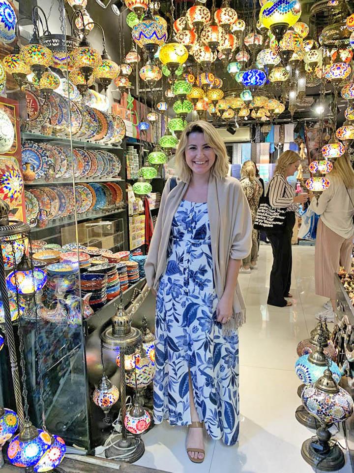 Gold Souk Dubai - mercado típico