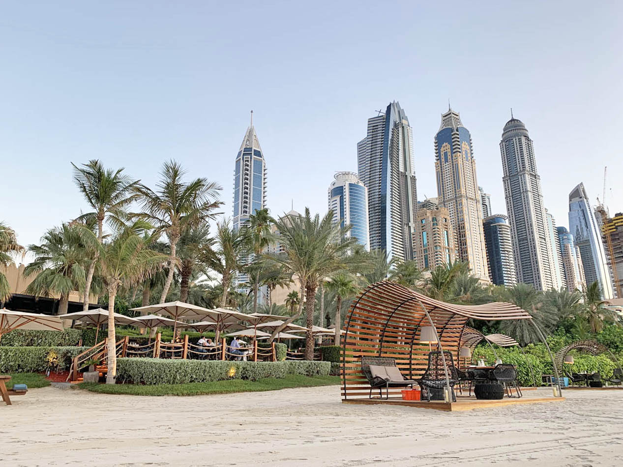 The Beach Bar and Grill - One and Only Royal Mirage Dubai