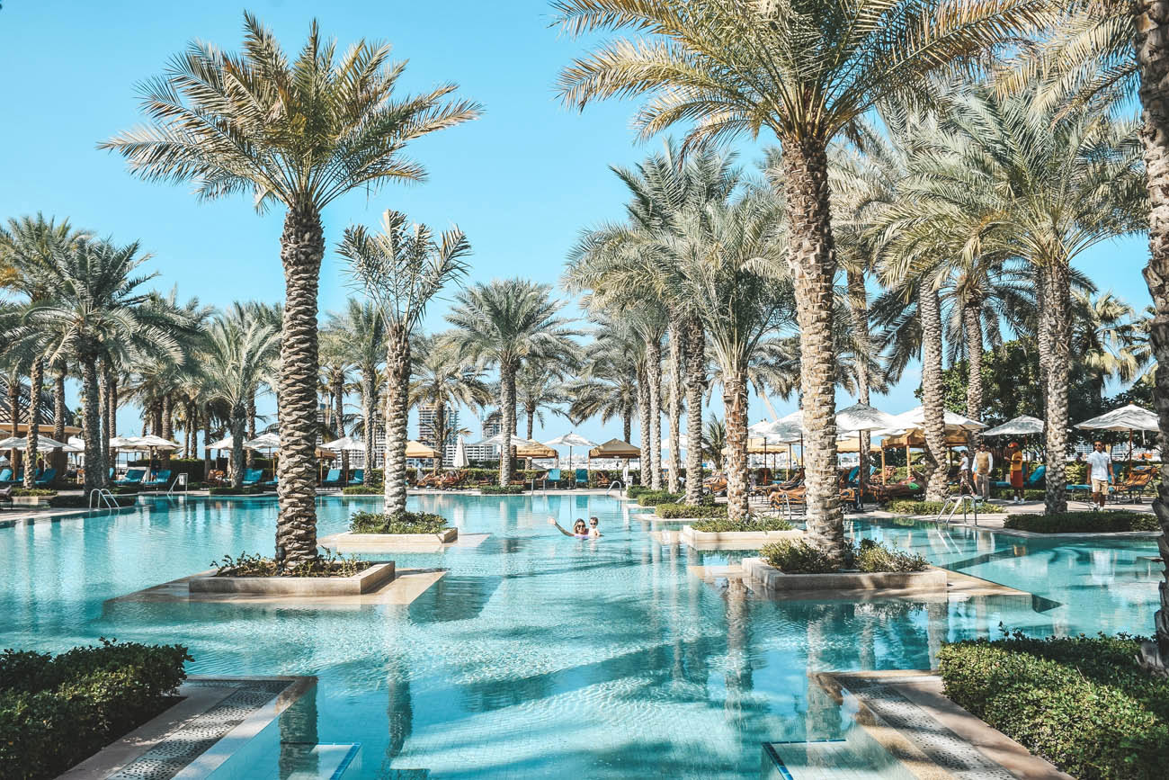 One and Only Royal Mirage Dubai - praia privativa