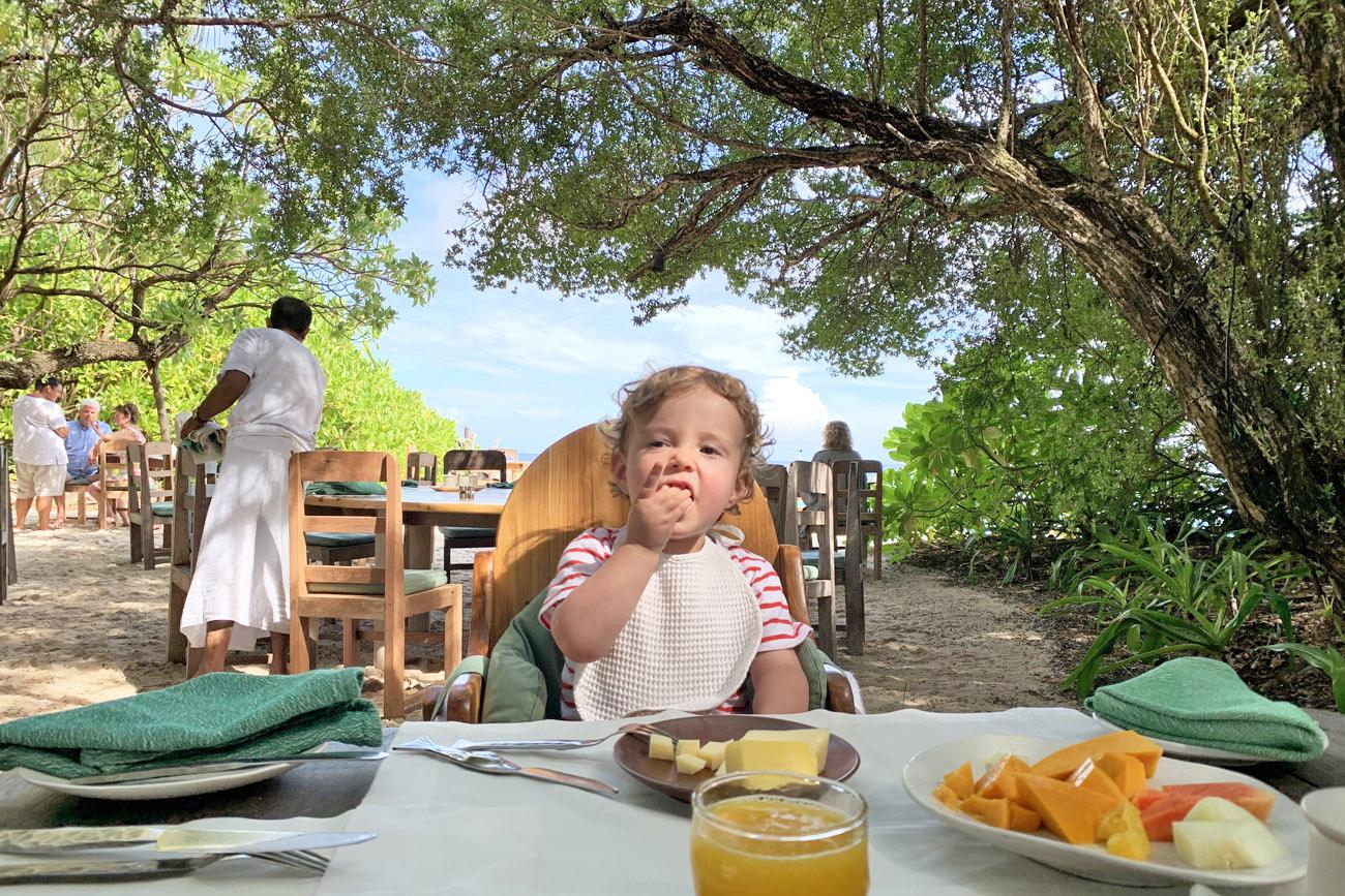 viagem com bebe maldivas