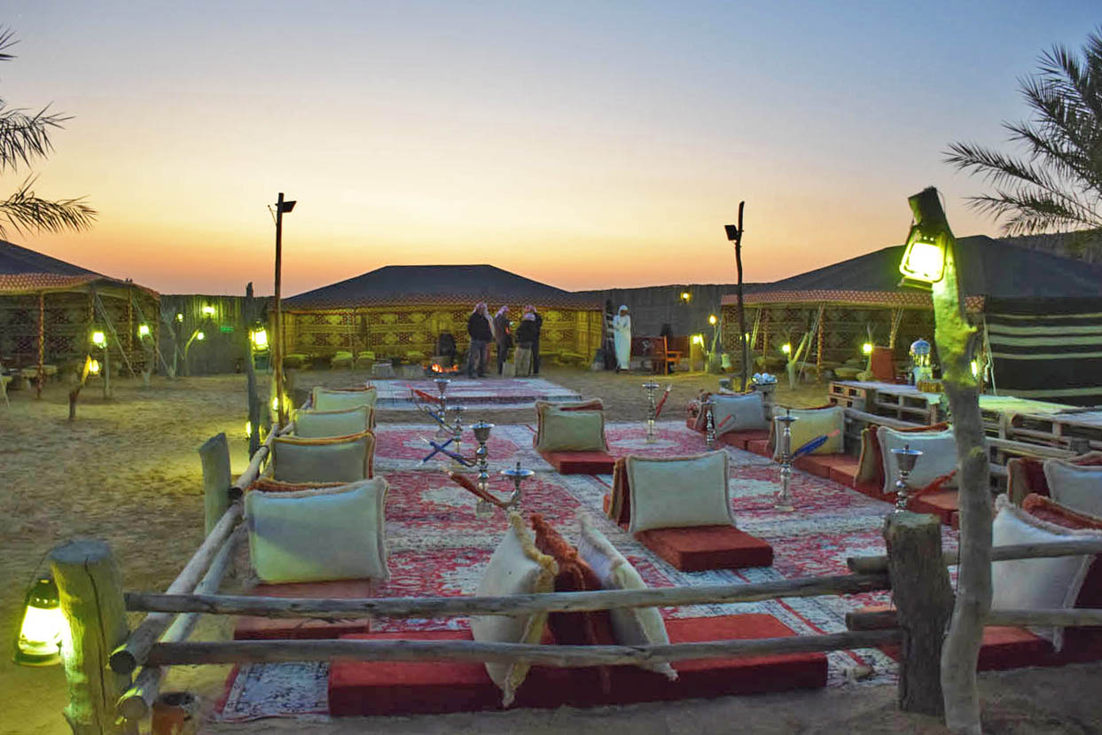 Passeio no deserto de Dubai Platinum Heritage