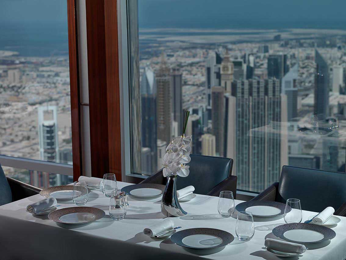atmosphere restaurant burj khalifa