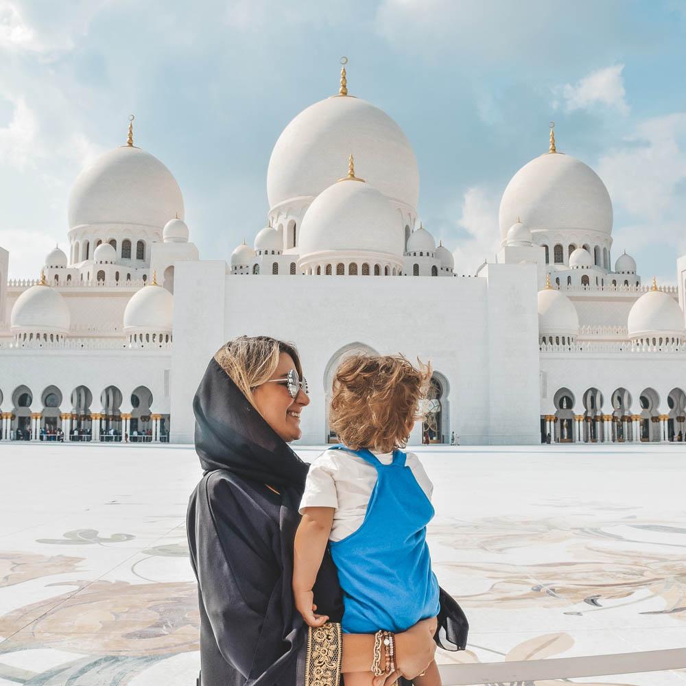 Dicas de Abu Dhabi - Grande Mesquita Sheikh Zayed