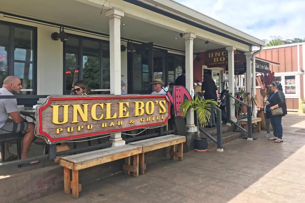 Dicas de Oahu - restaurantes em Haleiwa North Shore - Uncle Bos