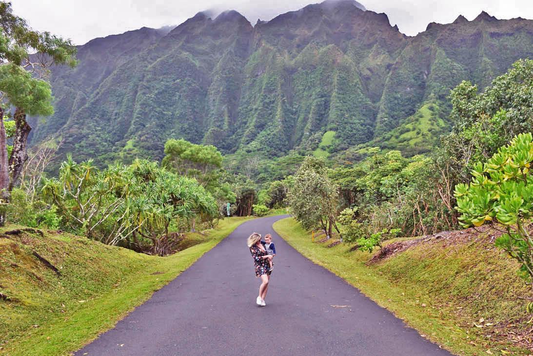 Hoomaluhia Botanical Garden - Oahu - Havai