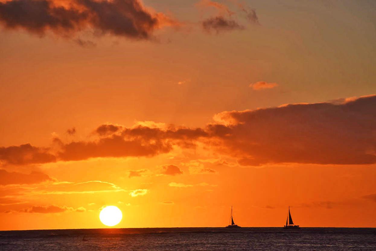Waikiki Beach - Honolulu - Oahu - Havai