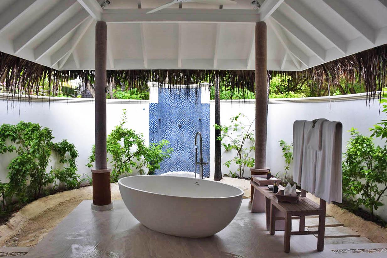 Anantara Dhigu beach villa Maldives