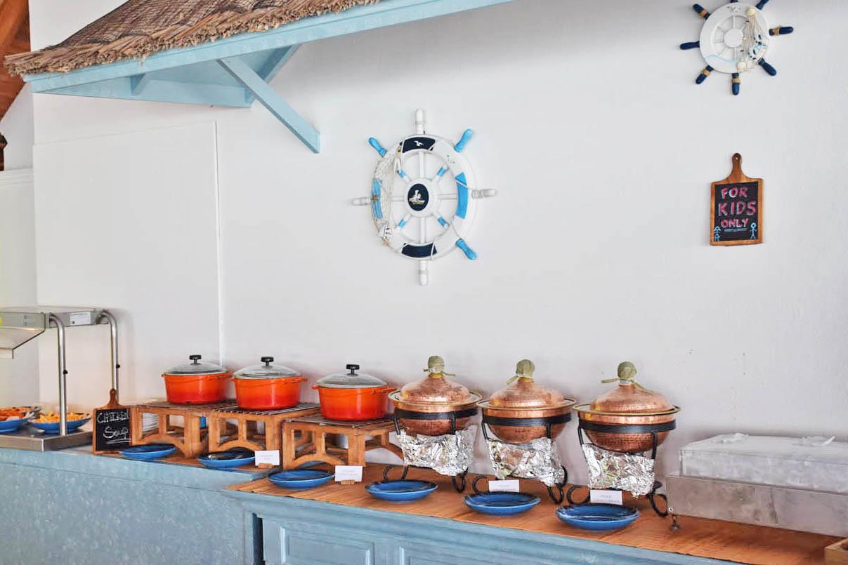 Anantara Dighu Maldivas - comida criança