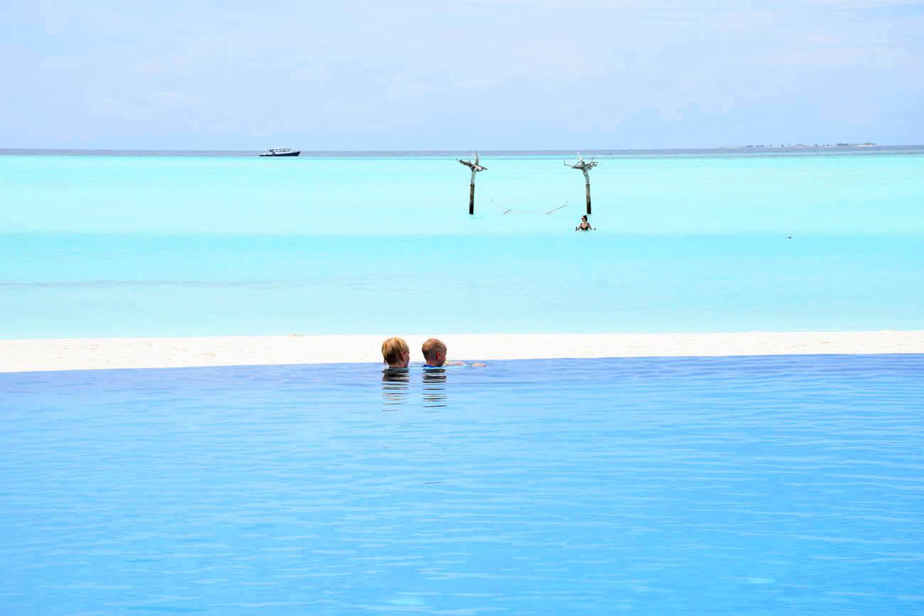 Anantara Dhigu Maldivas - praia