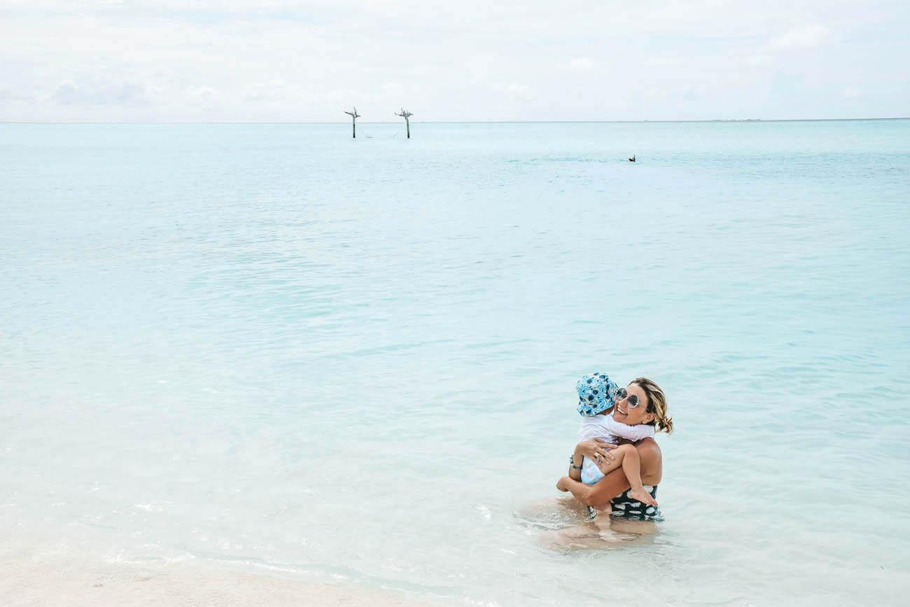 Anantara Dhigu Maldives - praia