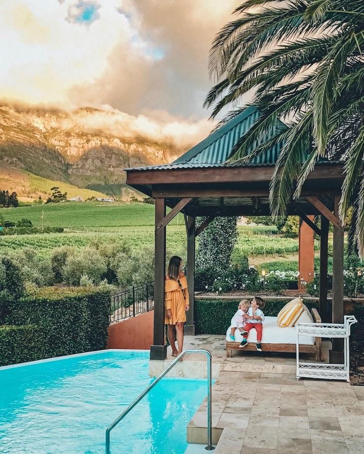 La Residence Franschhoek Stellenbosch - hotel kids friendly vinicolas Africa do Sul - viagem com crianças