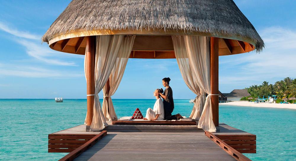 Anantara Dhigu Maldives spa