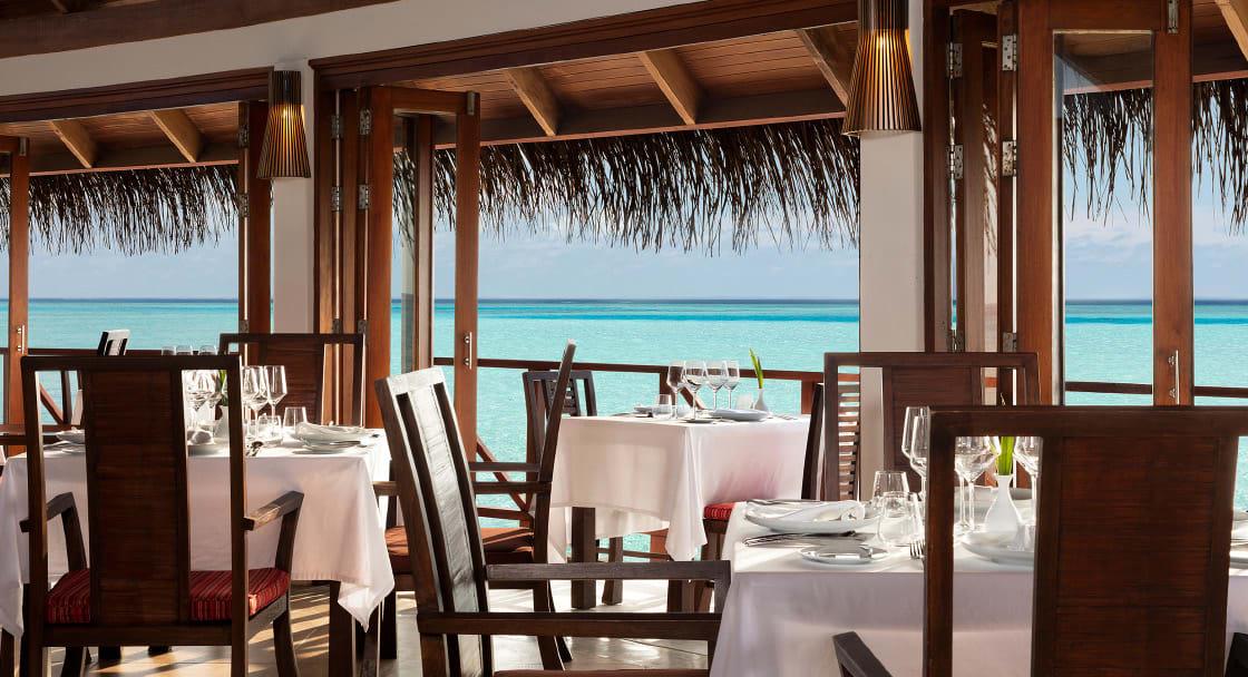 Anantara Dighu Maldives restaurantes Terrazzo - cozinha italiana