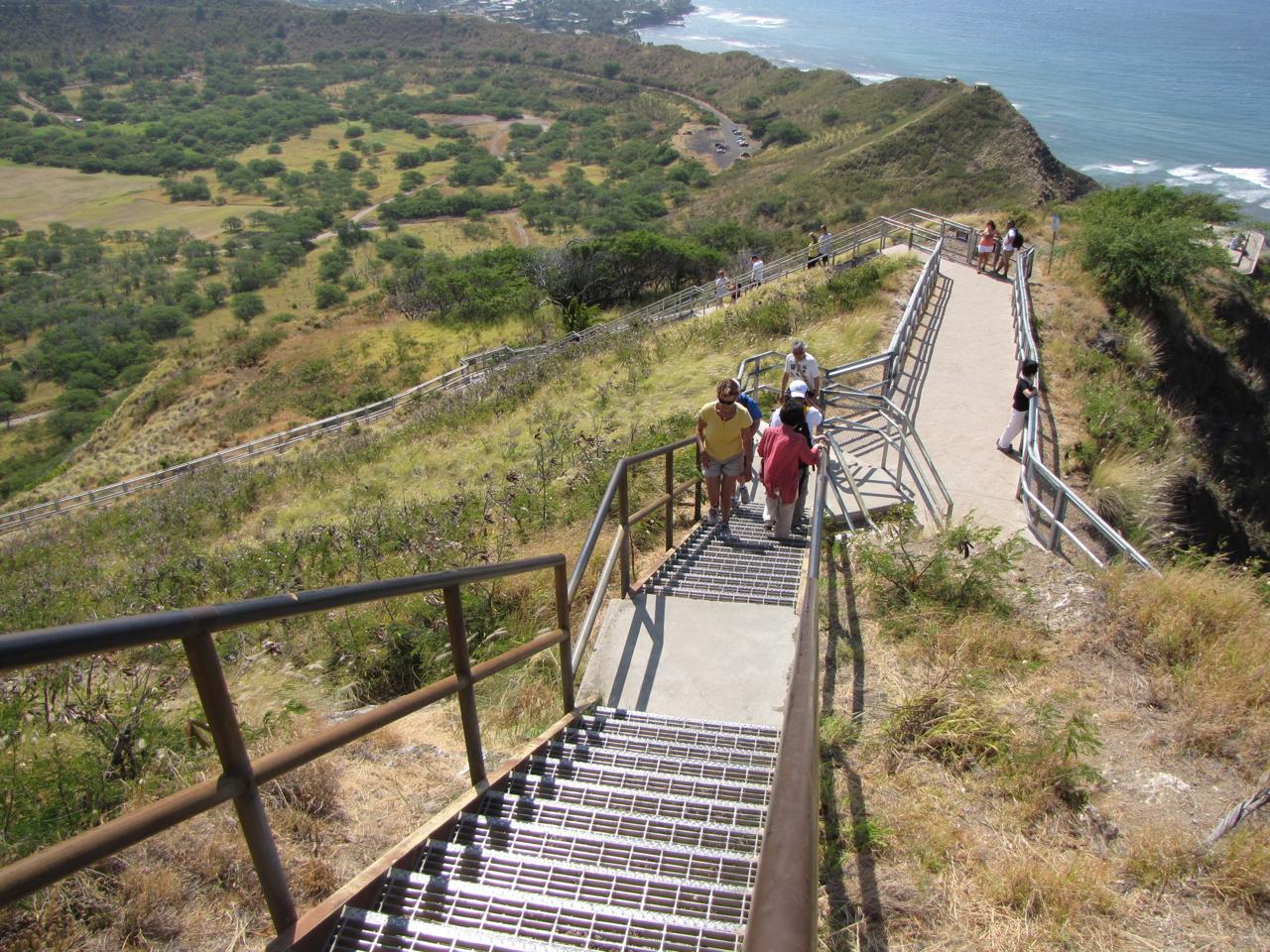 Diamond Head Oahu trail