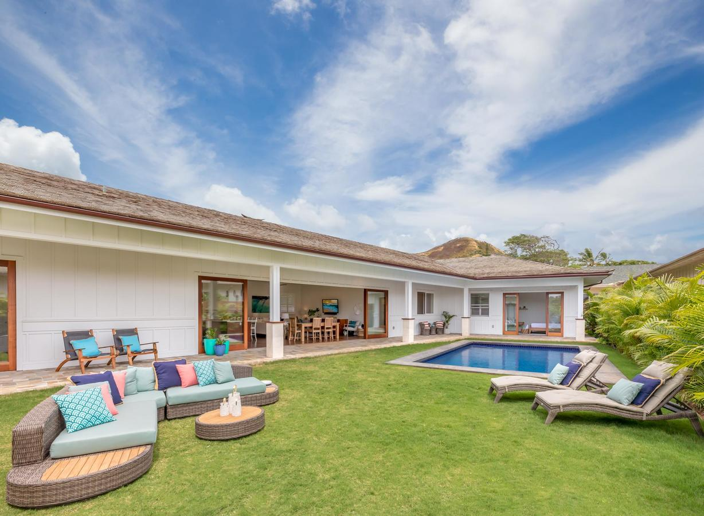 lanikai breeze - house to rent in lanikai kailua oahu