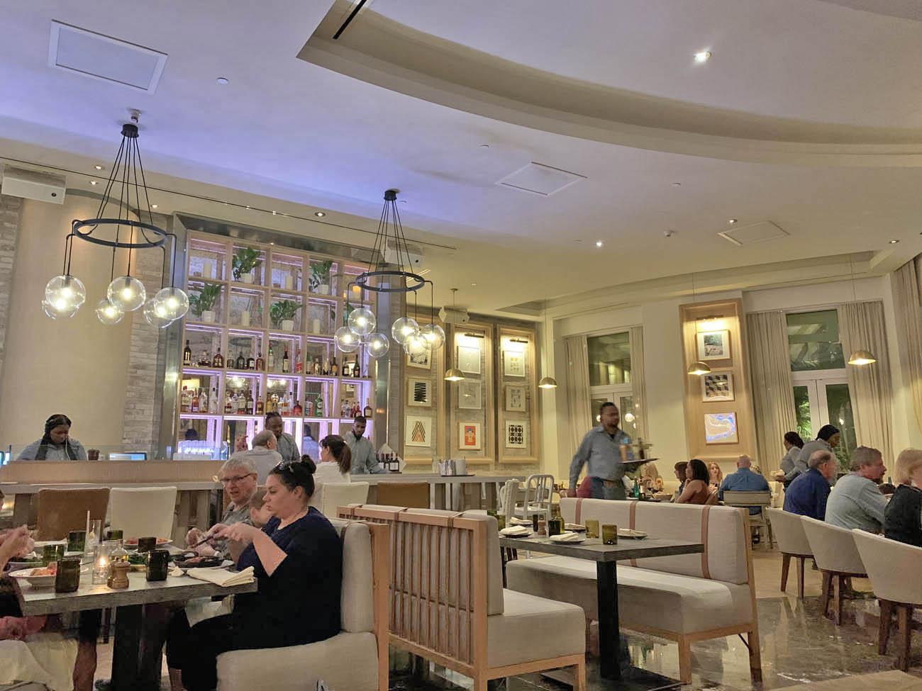 Dicas de Nassau - Restaurantes - onde comer - Filia - italiano - hotel SLS Baha Mar