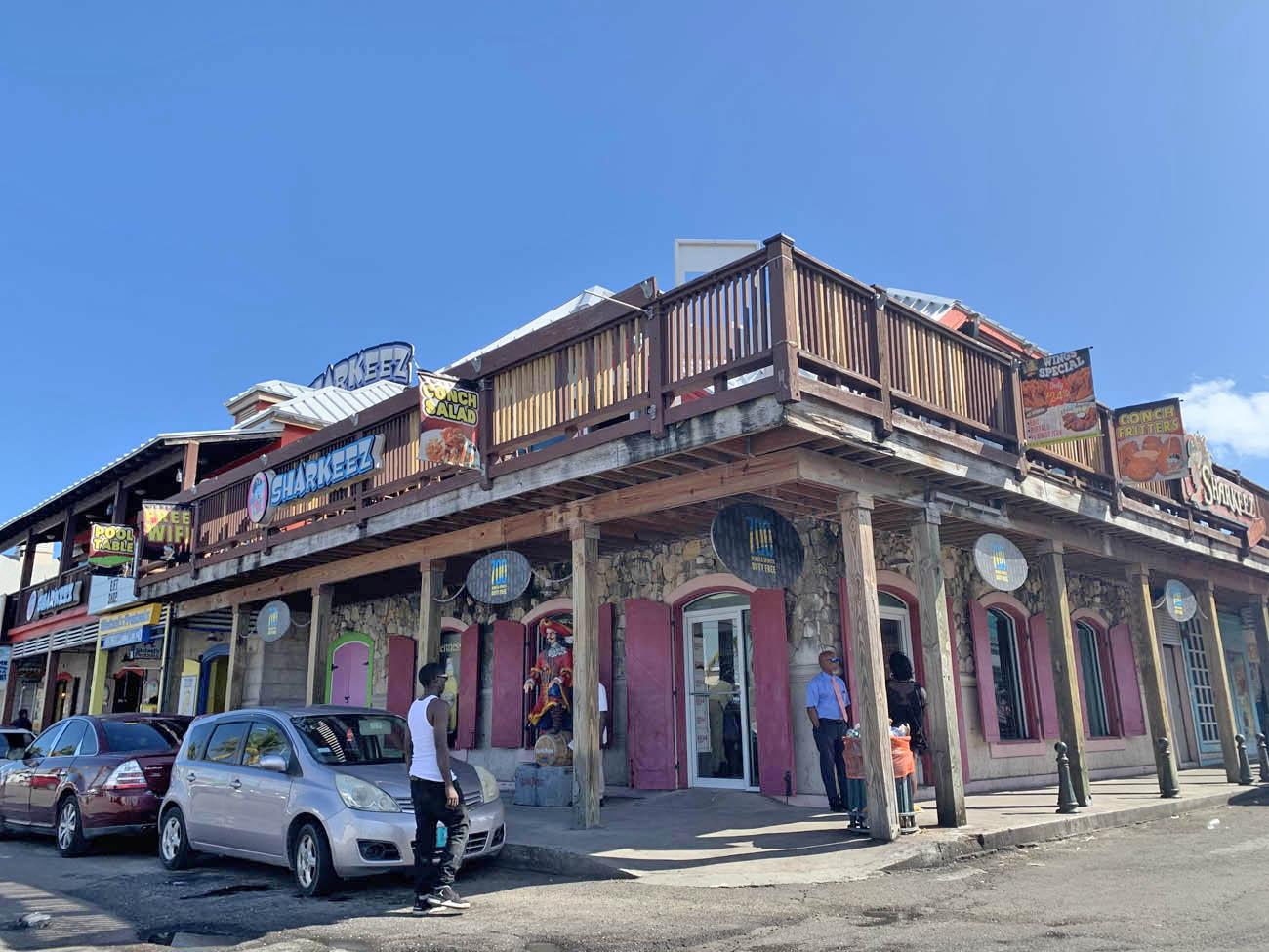 Nassau Downtown - bahamas
