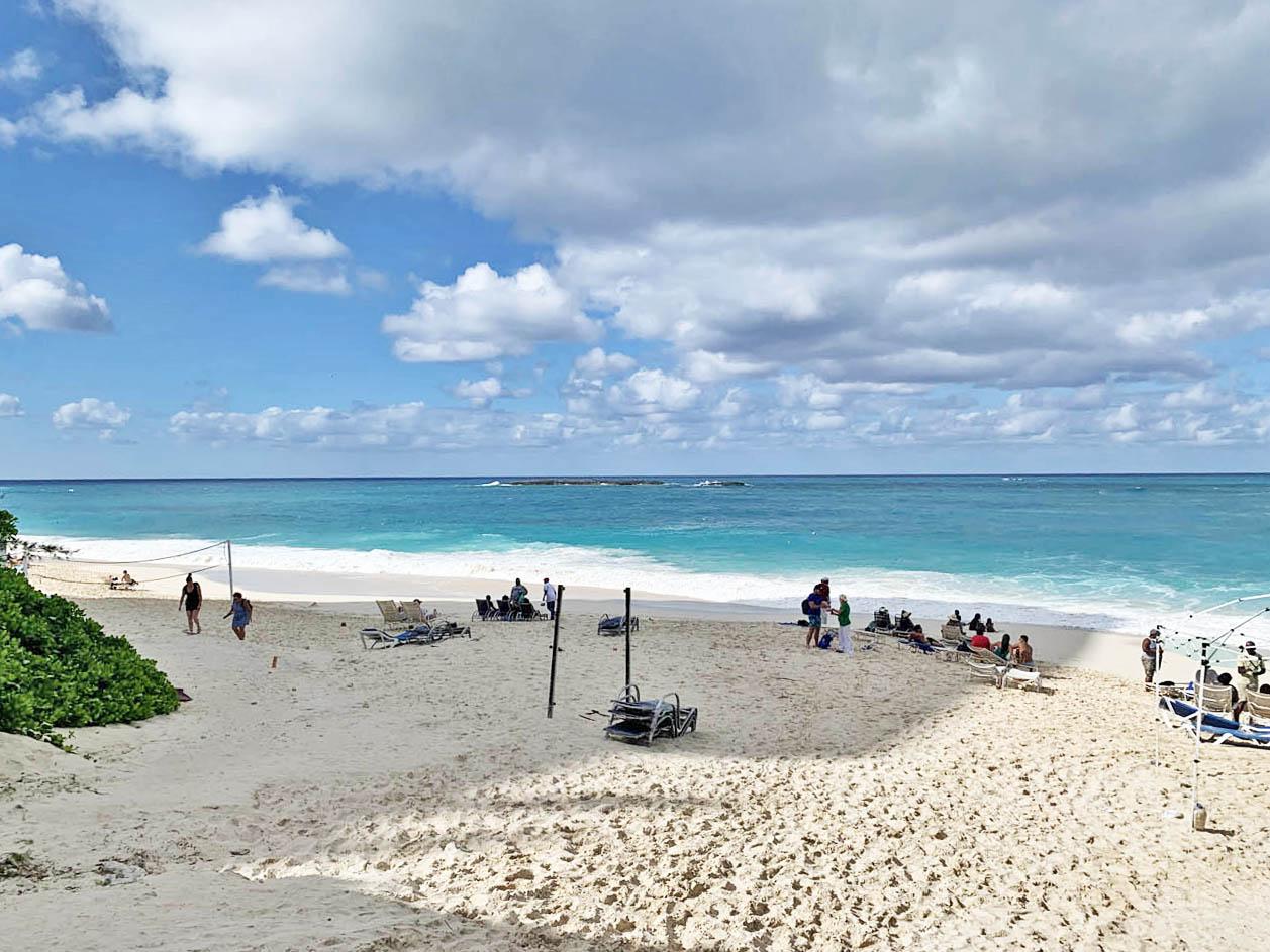 Praias de Nassau - Cabbage Beach - Paradise Island - Bahamas