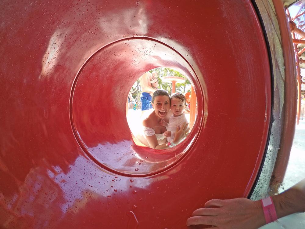Atlantis Bahamas - parque aquático Aquaventure - crianças - Splashers