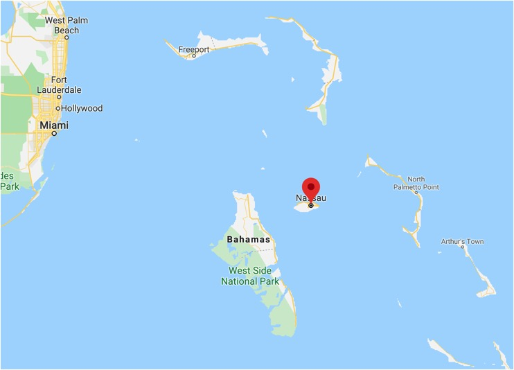 onde fica nassau bahamas