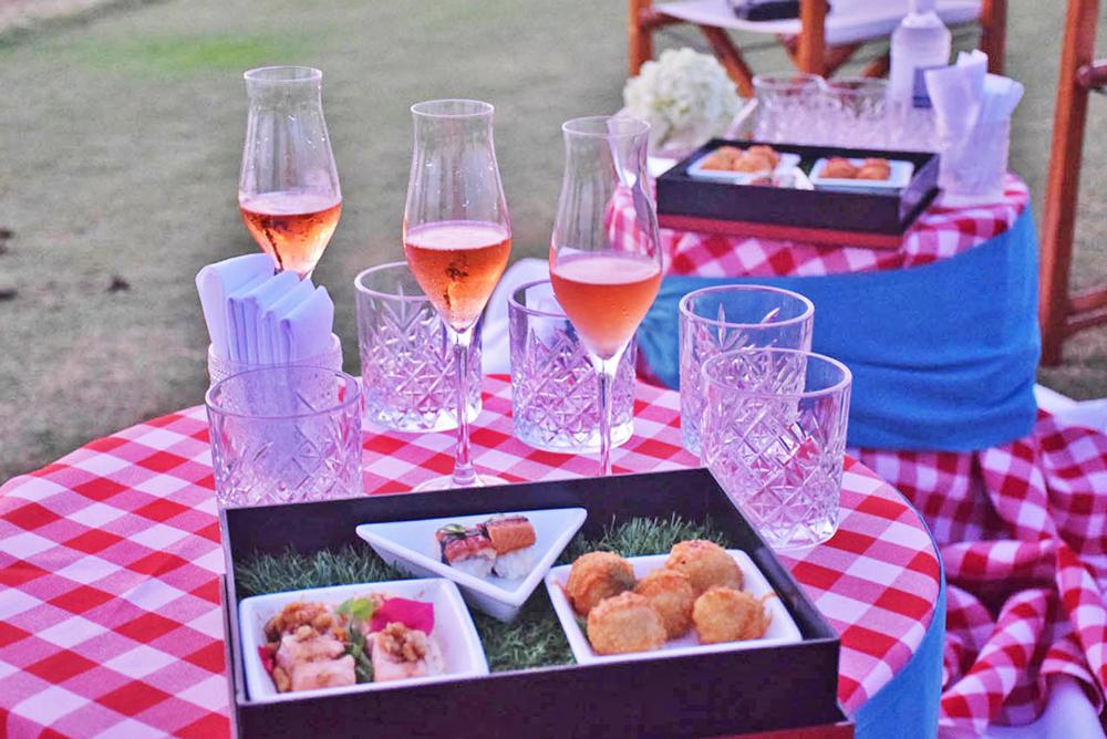 sunset cocktails mandarin oriental canouan