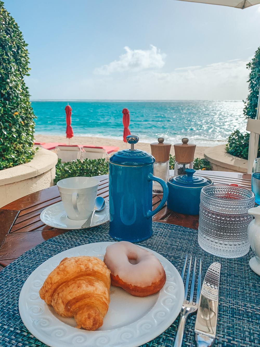 Mandarin Oriental Canouan breakfast