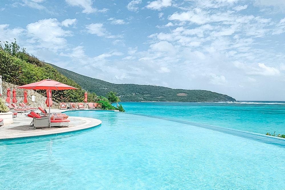 Mandarin Oriental Canouan - piscina de borda infinita