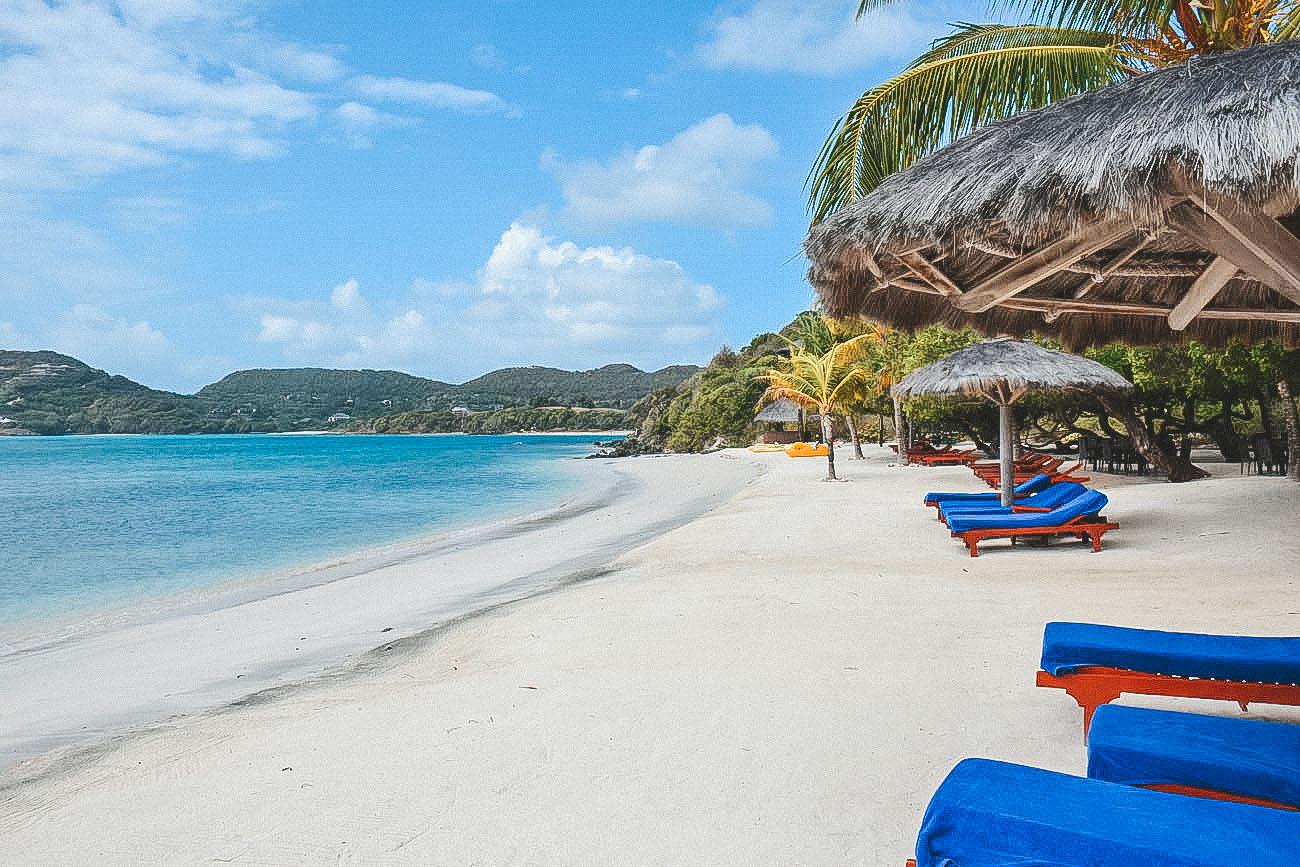 Mandarin Oriental Canouan - Shell Beach