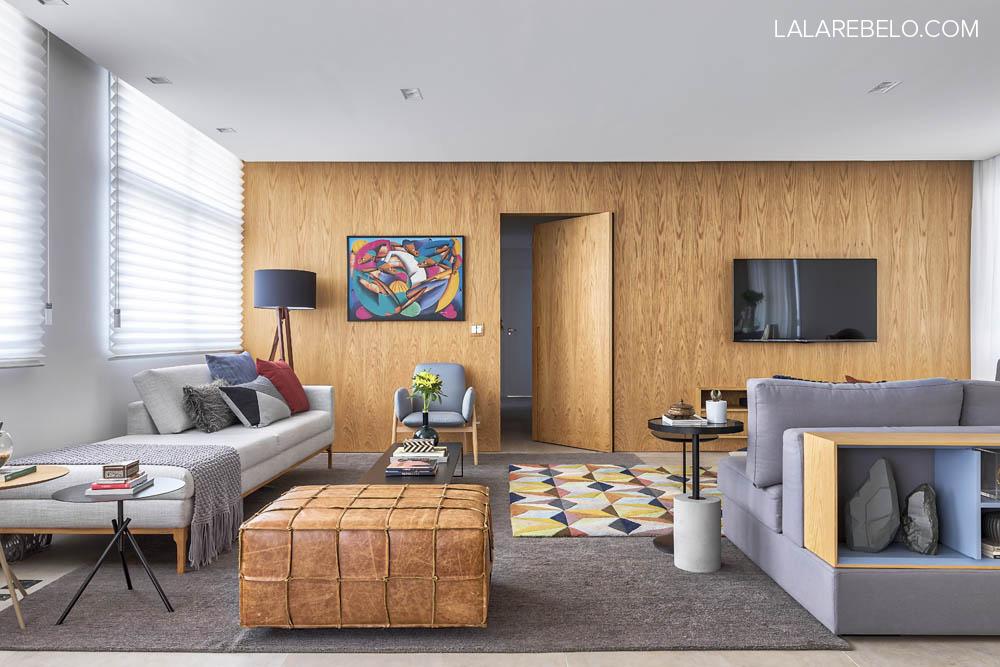 Apartamento Lala Rebelo - decoração inspirada em viagem