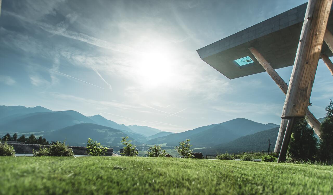 Alpin Panorama Hotel Hubertus Itália - piscina de borda infinita