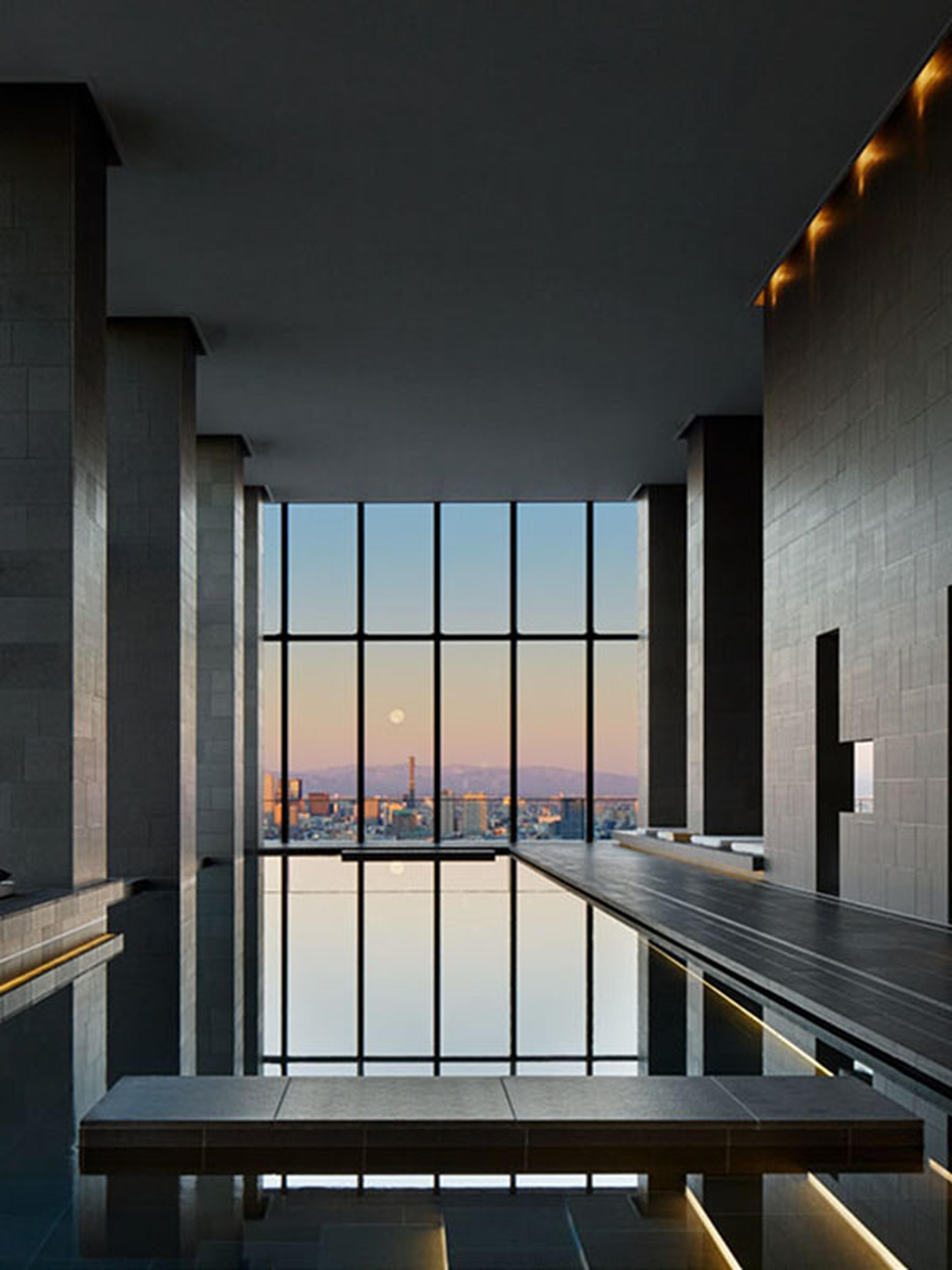 AMAN Tokyo - spa pool