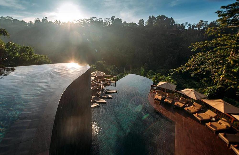 hanging gardens of bali pool