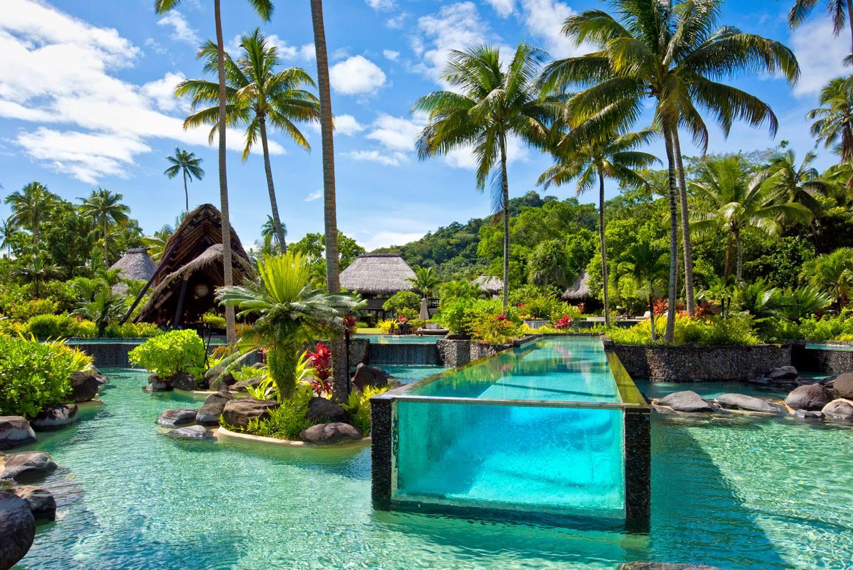 As piscinas mais lindas do mundo - laucala island - fiji