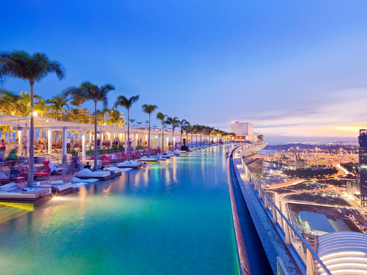 marina bay sands piscina singapura
