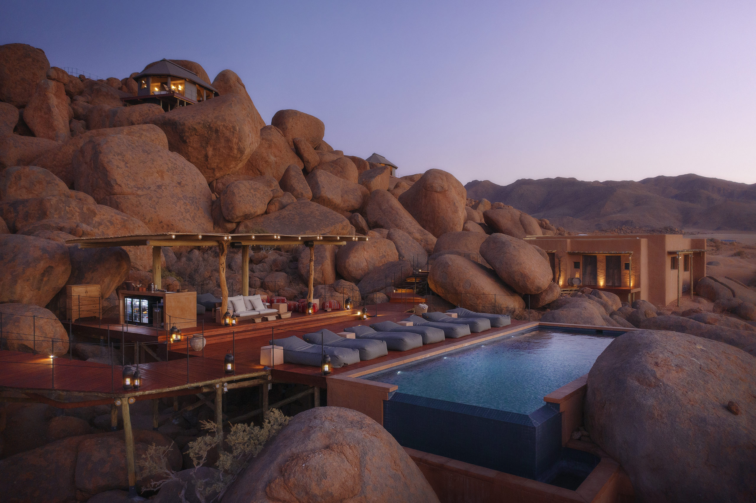 hotel sonop namibia pool - zannier hotels