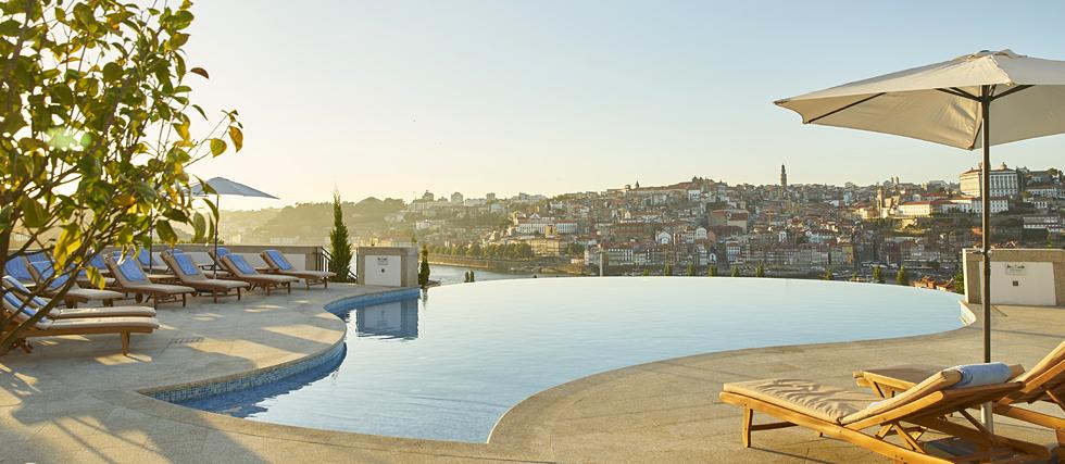 as piscinas mais lindas do mundo - the yeatman porto portugal