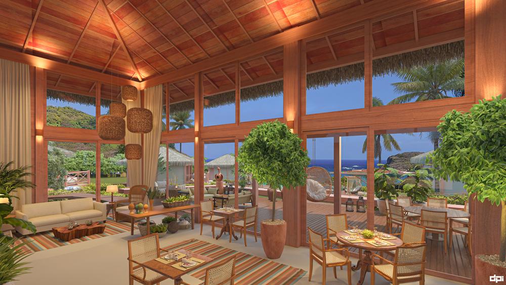 Pousada NANNAI Noronha Solar dos Ventos - restaurante