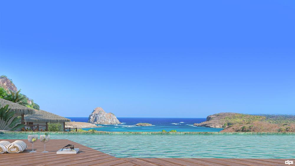 Pousada NANNAI Noronha - piscina