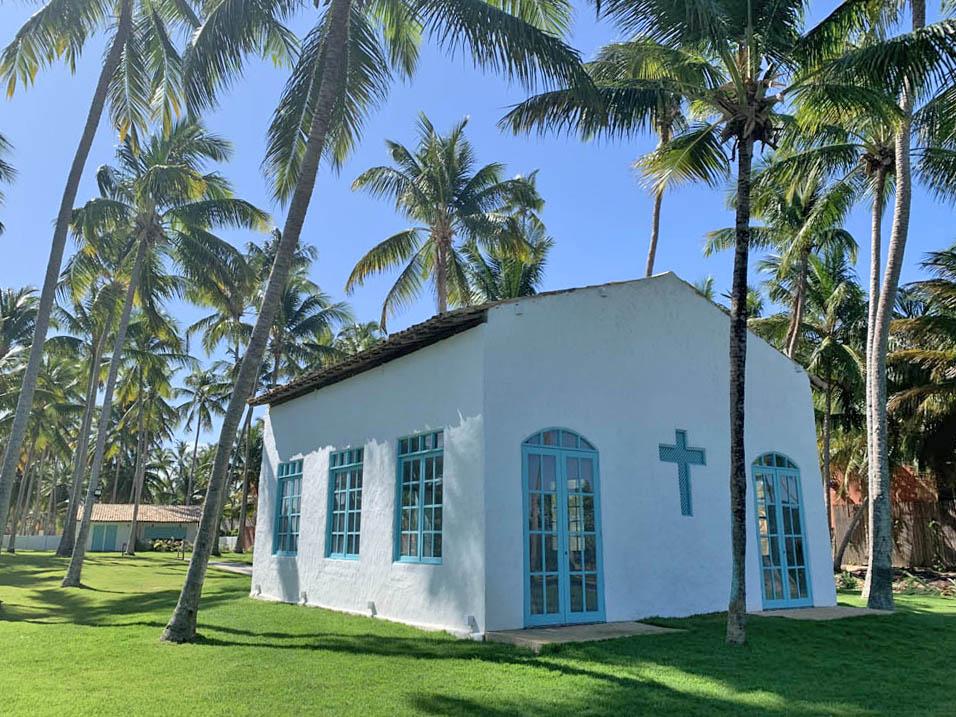 igreja casamentos praia do patacho alagoas