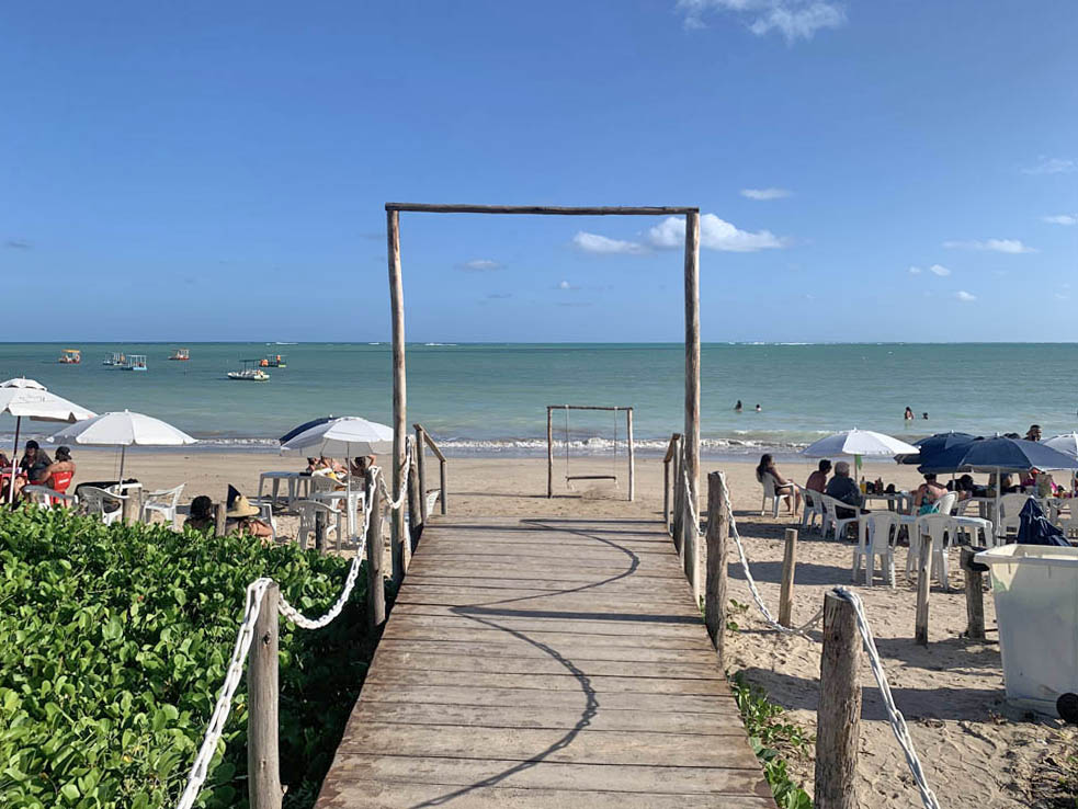 Praia de Lages - Patacho - barraca Sonhos do Patacho - Porto de Pedras