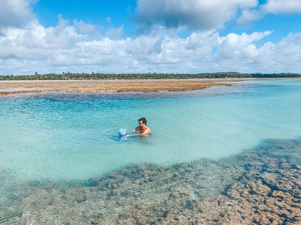 Piscinas naturais do Patacho - Alagoas