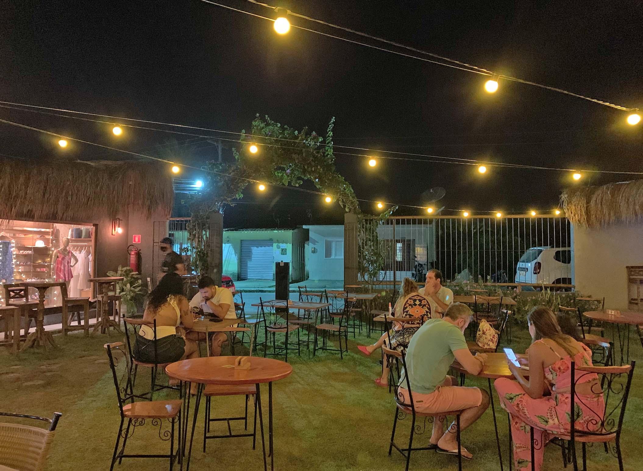 vila milagres - restaurantes em milagres - onde comer